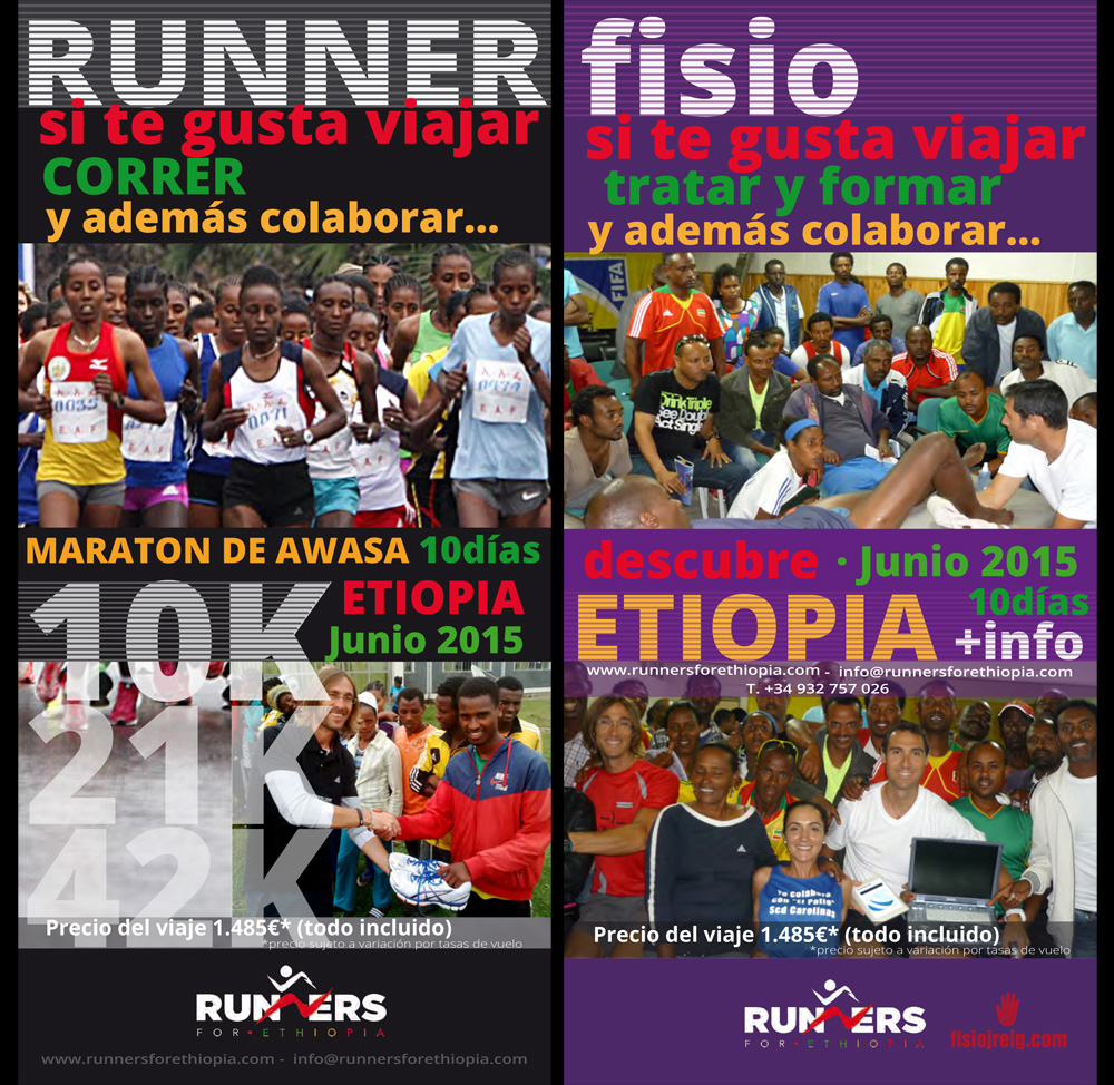 Flyer runners for ethiopia