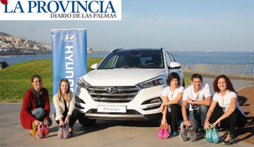 Zapatillas solidarias gracias a Hyundai Gran Canaria Maratón