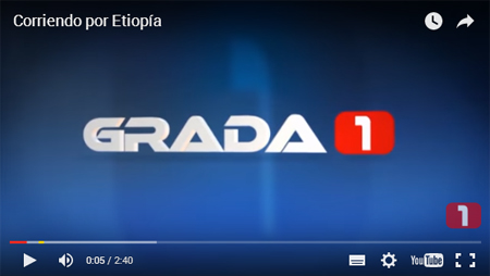 Grada1 corriendo por Etiopia