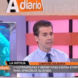 Romualdo Castillo fisioterapeuta desde Canal Sur
