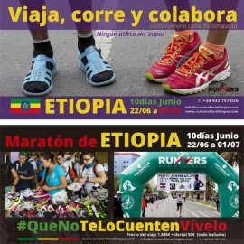 Flyer Runners for Ethiopia 2016 – descargable