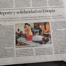 Deporte y solidaridad en Etiopía – Periódico Información