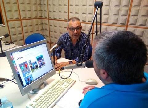 Juan Muñoz colaborador entrevista en Radio Barberà