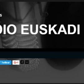 Radio Euskadi nos dedica una entrevista