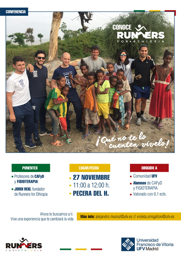 Conferencia R4E - UFV