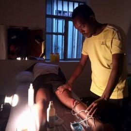Avances fisioterapeutas etíopes gracias a la formación y donación de material