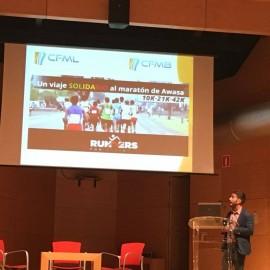 Raul Reboll del Centro Fisio-Médico de Barakaldo presenta el proyecto