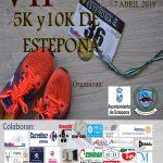 Recogida de tops en la Carrera Urbana deEsteponadel 7 de abril