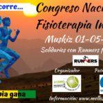 Colaboración desde Muskiz, Cogreso de Fisioterapia y Reto Solidario